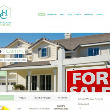 Vancouver Investment Web Design